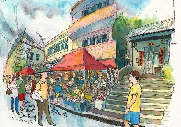 See Cheung St, Old Town, by Gary Yeung
