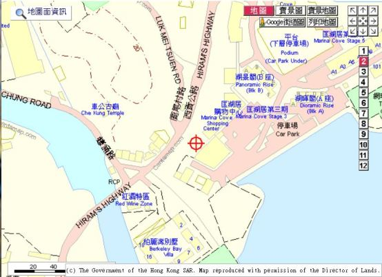 marina cove map 1