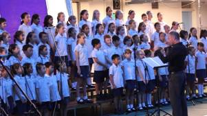 Clearwater Bay School choir will sing at Waterfront Park