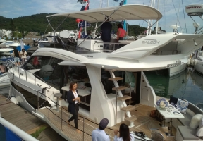 53ft Galeon from Poland, price just under US$1 million.